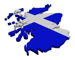 scottish-flag-on-map-of-scotland